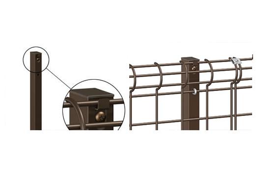 三共アルミ ユメッシュE型フェンス